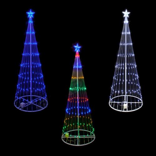6 Foot LED Showmotion 3D Christmas Tree