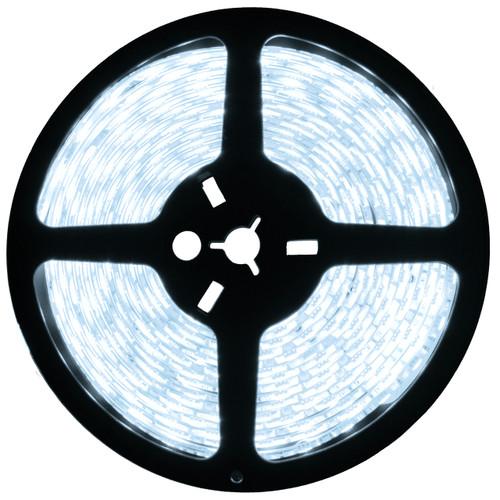 16.4ft cool white led strip light spool - 12 volt - smd-3528 - ip22