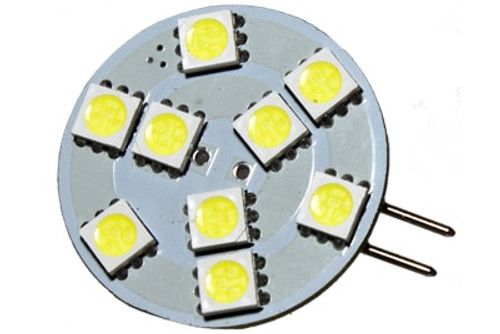 9 LED 12 Volt G4(Side) Bulb (120deg)