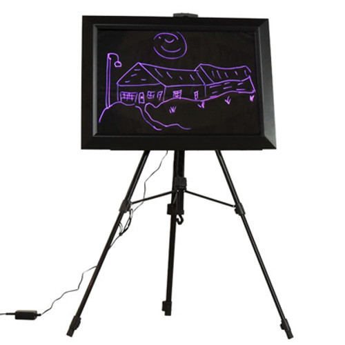 led message board easel