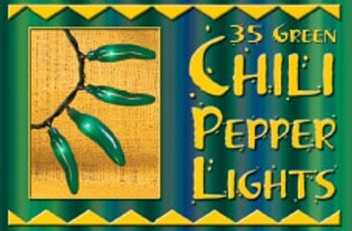 14 Foot Chili Pepper String Lights