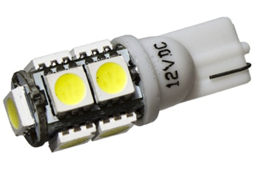 9 LED 12 Volt Wedge Bulb (360deg)