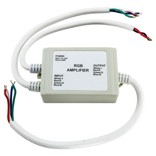 12 volt rgb led strip light amplifier - 12 amp
