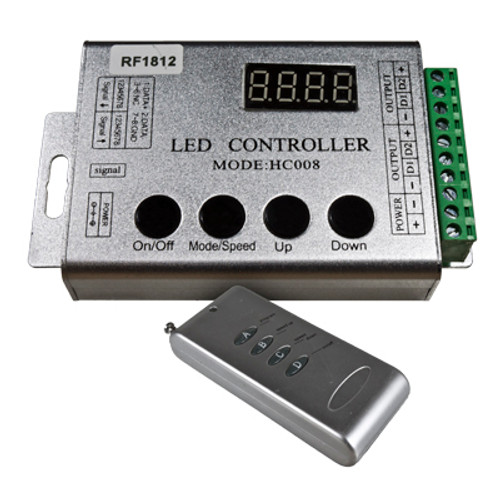 12 volt programmable chasing controller for rgb chasing strip lights