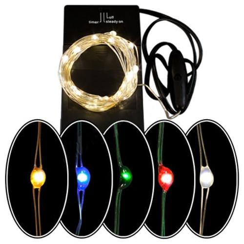 Battery Powered 36 LED Micro Light Set