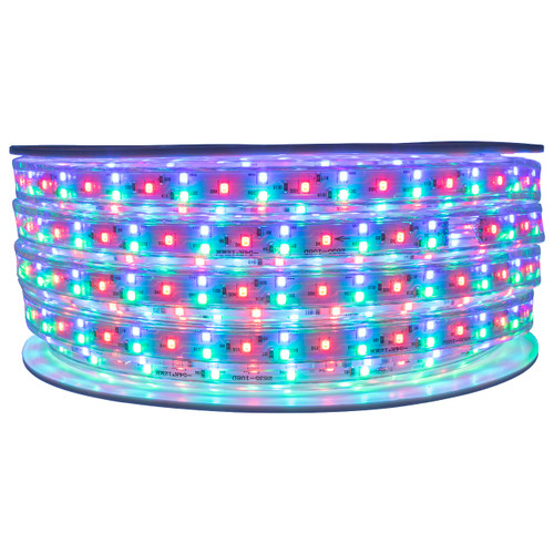 RGB SMD LED Color Changing Rope Lights - 120 Volt - 65 Feet