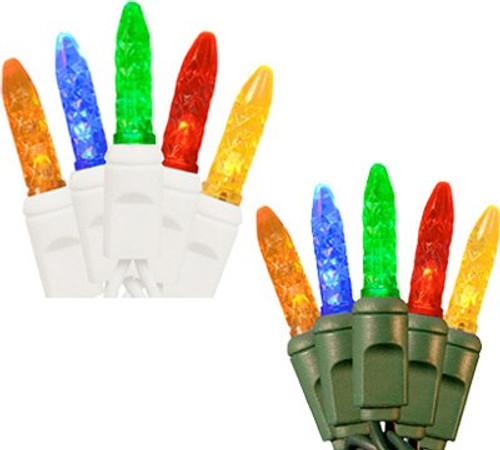 100 M5 LED String Light Set - 4 Inch Spacing