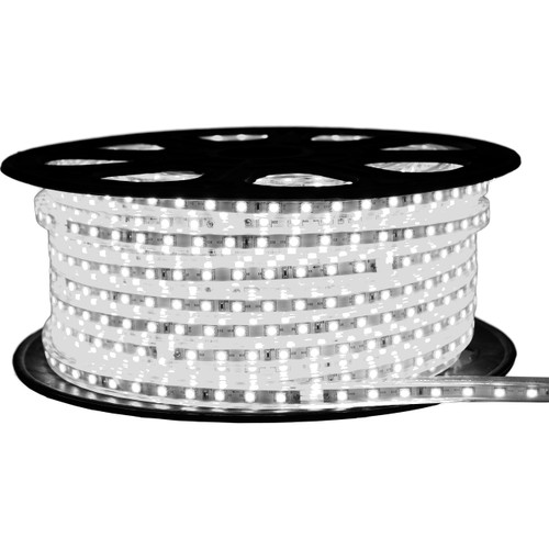 Cool White LED Strip Light - 120 Volt - High Output (SMD 3528) - 148 Feet