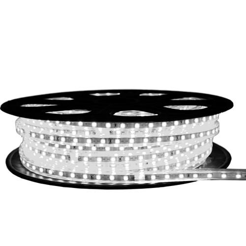Cool White LED Strip Light - 120 Volt - High Output (SMD 3528) - 65 Feet