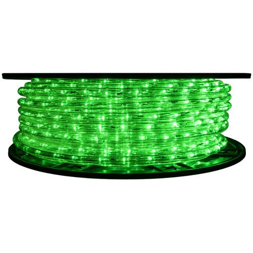 Green LED Rope Light - 120 Volt - 148 Feet