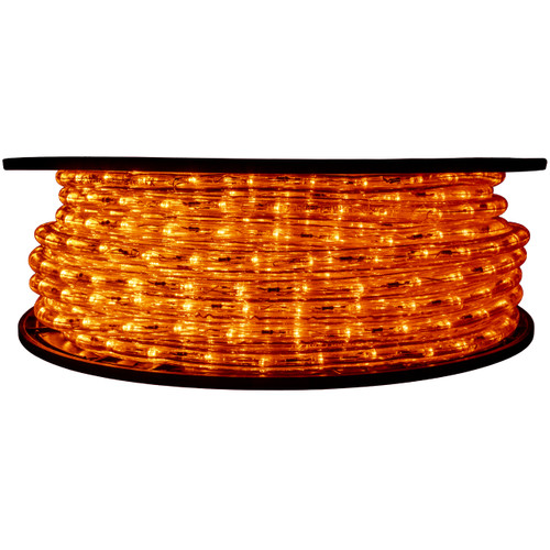 Orange LED Rope Light - 120 Volt - 148 Feet