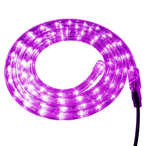Fuchsia LED Rope Light - 120 Volt - Custom Cut