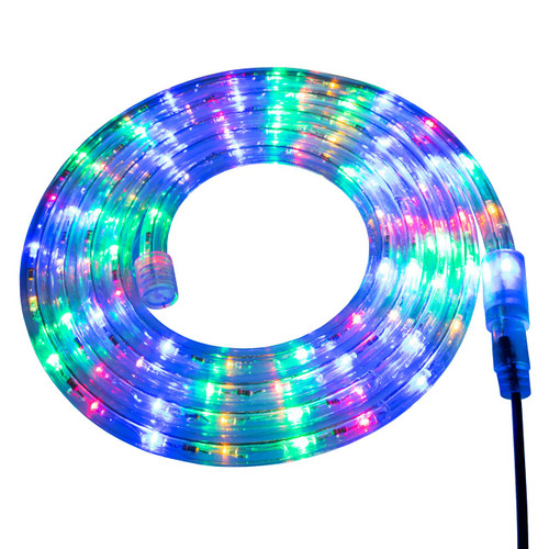 Multi-Color LED Rope Light - 120 Volt - Custom Cut