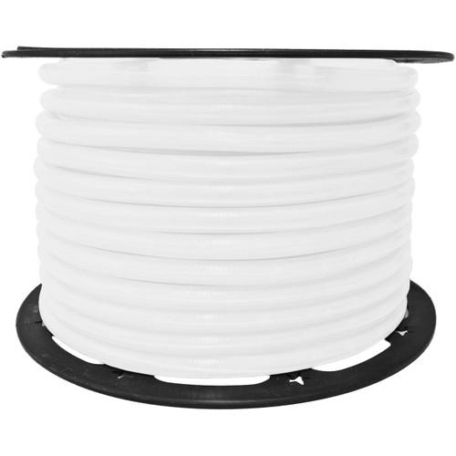 150ft pearl white incandescent rope light spool - 120 volt - 1/2 inch diameter