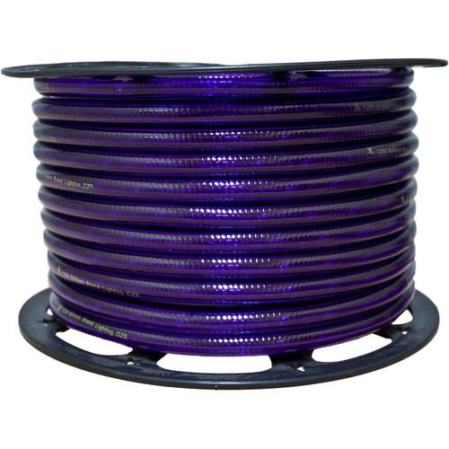 150ft purple incandescent rope light spool - 120 volt - 3/8 inch diameter