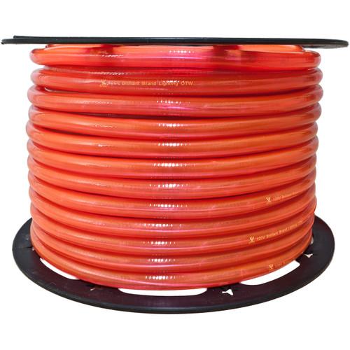 150ft pink incandescent rope light spool - 12 volt - 3/8 inch diameter