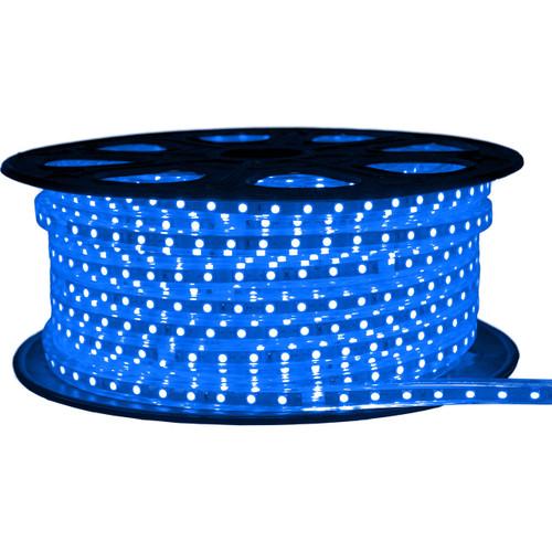 Blue LED Strip Light - 120 Volt - High Output (SMD 3528) - 148 Feet