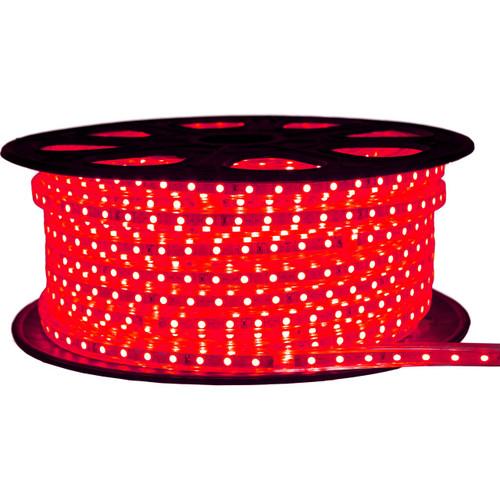 Red LED Strip Light - 120 Volt - High Output (SMD 3528) - 148 Feet