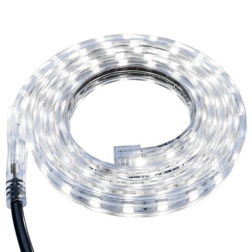 Cool White LED Strip Light - 120 Volt - High Output (SMD 5050) - Custom Cut