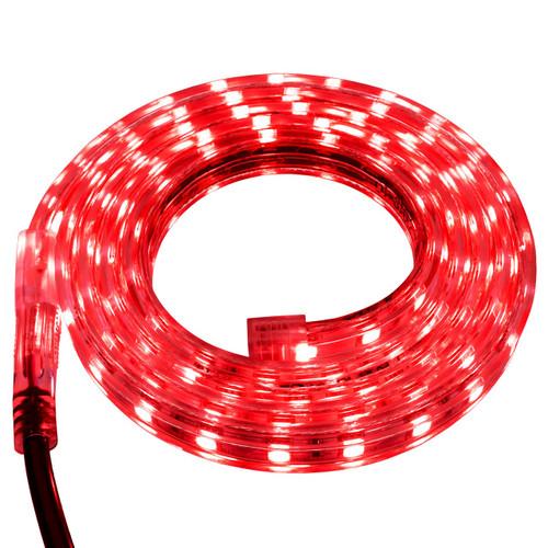 Red LED Strip Light - 120 Volt - High Output (SMD 5050) - Custom Cut