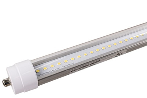 8 foot LED T8 Tube Light - Plug & Play (Case of 10)