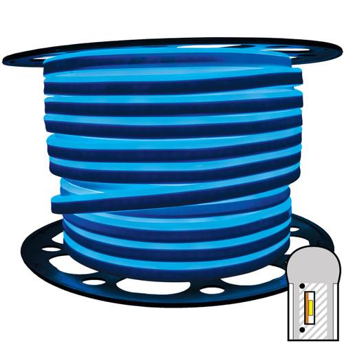 148ft blue smd led neon strip light spool - 120 volt