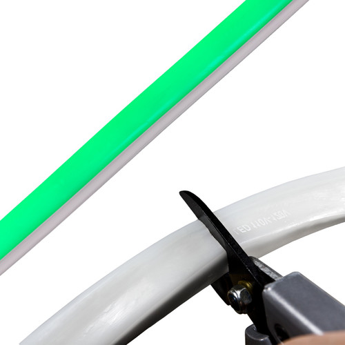 Green SMD LED Neon Strip Light - 120 Volt - Custom Cut