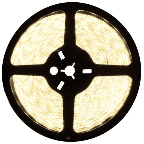 16.4ft warm white led strip light spool - 12 volt - smd-5050 - ip22