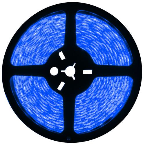 16.4ft blue led strip light spool - 12 volt - smd-3528 - ip65