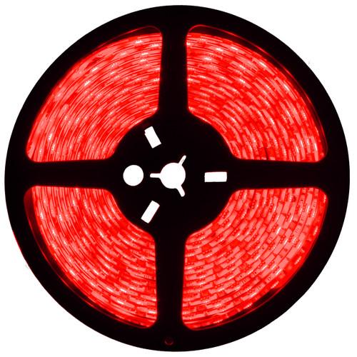 16.4ft red led strip light spool - 12 volt - smd-3528 - ip65