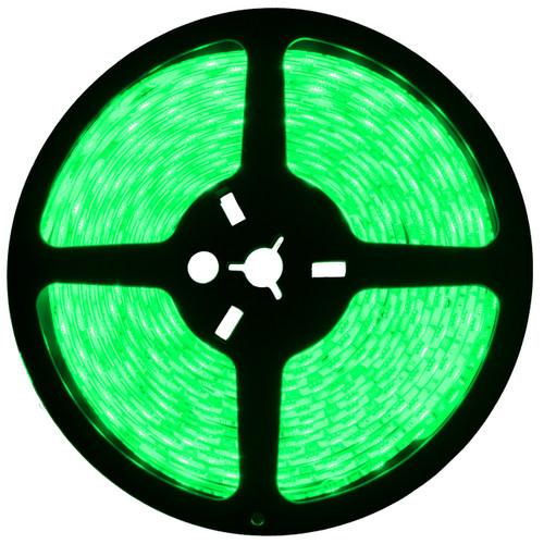 16.4ft green led strip light spool - 12 volt - smd-5050 - ip65