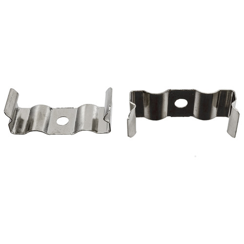 Integrated LED T8 Fixture Mounting Clips (2 Pack)