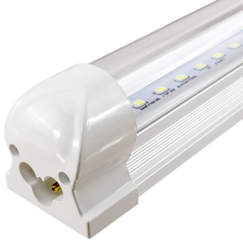 Integrated LED T8 Fixtures