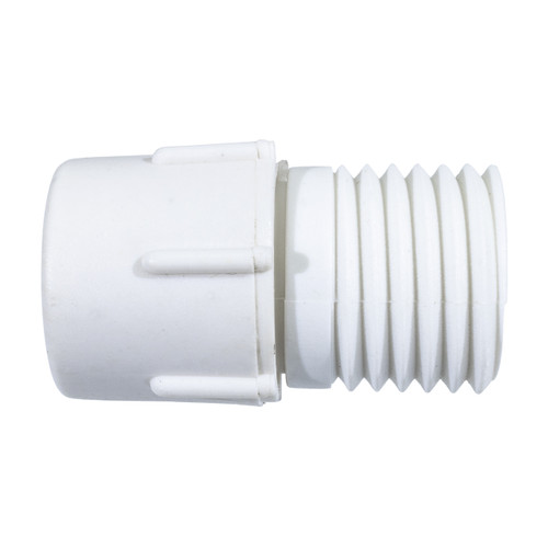 """3-Wire 1/2"""" Rope Light Power Connector (5 Pack)"""