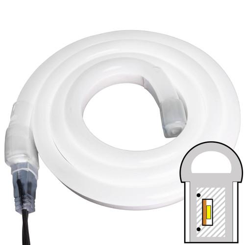 Cool White SMD LED Neon Rope Light - 120 Volt - Custom Cut
