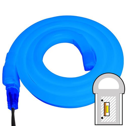 Blue SMD LED Neon Rope Light - 120 Volt - Custom Cut
