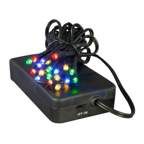 20 light led battery powered mini light set