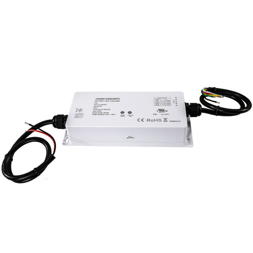 Universal RGBW RF and WiFi Weatherproof Controller - 12 Volt