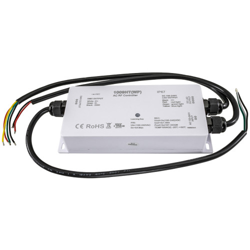 DMX RGB RF LED Strip Light Weatherproof Controller - 120 Volt