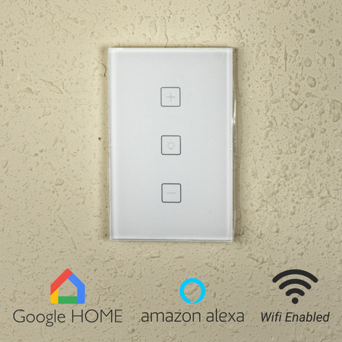 Smart Wireless (WiFi) Touch Dimmer Switch - 120 Volt