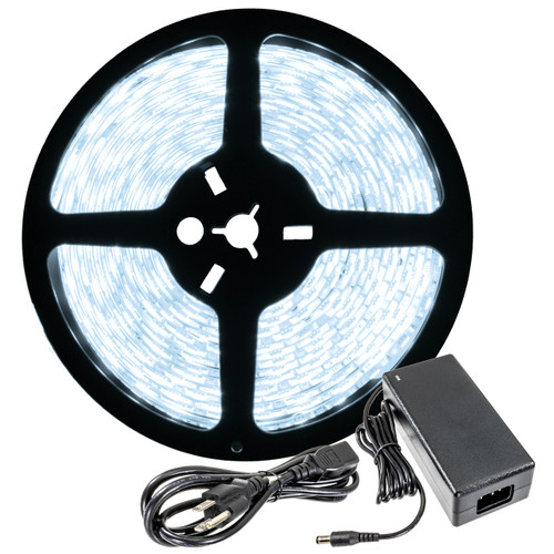 16.4ft led strip light spool with power supply