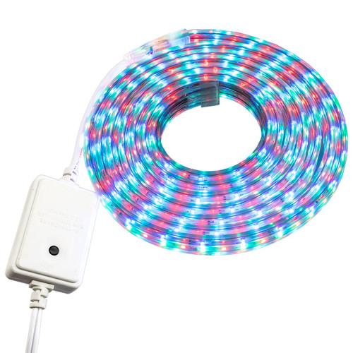 RGB Color Changing SMD LED Rope Light - 120 Volt - Custom Cut