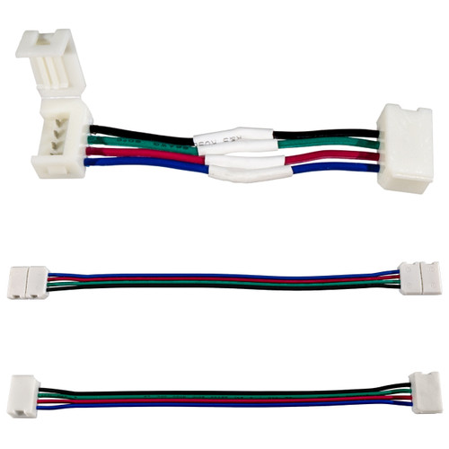 12 Volt RGB LED Strip Light Jumper Connector