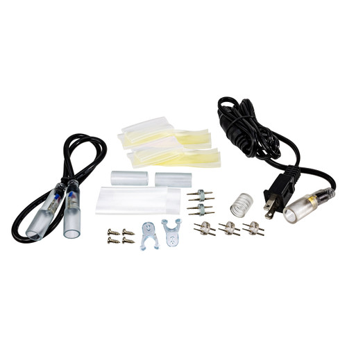 120 Volt LED Rope Light Accessory Bundle