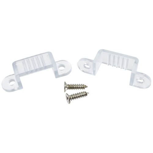 120 Volt LED Strip Light Mounting Clips (50 Pack) (SMD-5050)