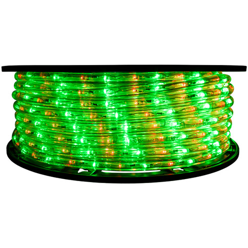 2 Color Red & Green LED Rope Light - 120 Volt - 148 Feet