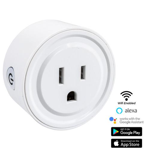 WiFi Smart Socket Outlet / Remote Control Wireless Plug - Alexa - Google Home - Smart Phone