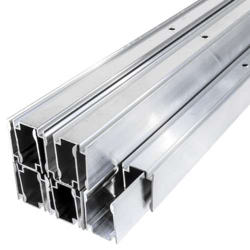 24 Inch x 9/16 Inch LED Neon Rope Light Mounting Track - Aluminum Channel (10 Pack) - 120 Volt