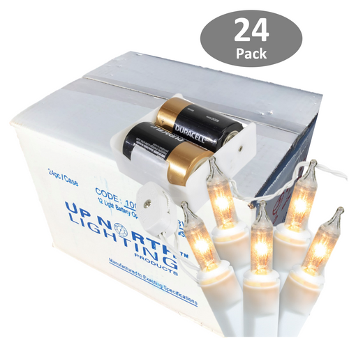 Battery Operated Mini Lights Case of 24