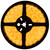 16.4ft yellow led strip light spool - 12 volt - smd-5050 - ip22